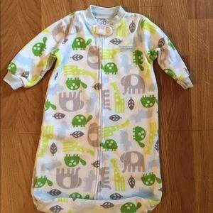 Carter's Fleece Sleeper Sack One Size(0-9 Months)